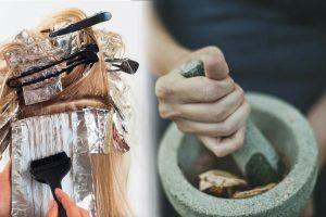 henna mask for grey hair